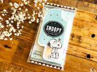 Snoopy Ice Candy Shape Memo Pad - Snoopy and Woodstock