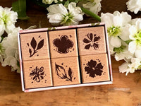 Meow / Spring collection – Kale blossom stamp set (set of 6)