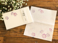 Japanese Kaishi Paper / Cosmos flower
