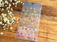 Sumikko Gurashi Colorful Clear Stickers / Seals