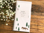 Japanese Paper Letter set with envelope - North Forest