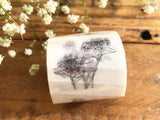 Botanical Garden Japanese Washi Tapes - Flowers