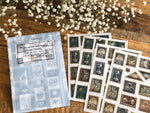Lin Chia Ning / Pring-on sticker Set - Postage Stamp 4 Sheets