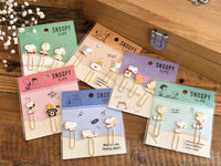 Snoopy metal clip set of 3 - Telephone