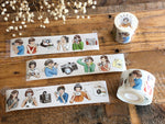 Pointdiary Original Gril Washi Tape - Photo Girls