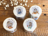 Pointdiary Original Gril Washi Tape - Eating Girls