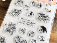BGM Clear Stamps - Fruit