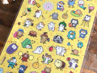 Sheet of Stickers -  Cats Summer Collection