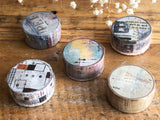 REMAKE Little Path / Chamil Garden Washi Masking Tape - Water