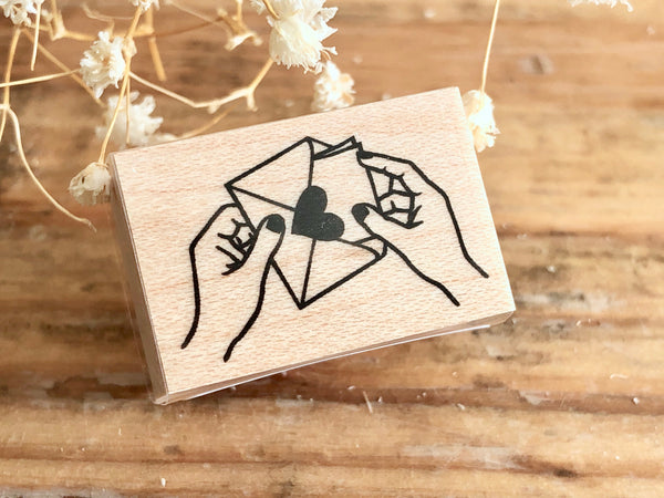 KNOOP Original Rubber Stamp - Love Letter