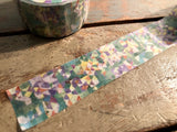 Omori Yuko Original Washi Tape - Ajisai (紫陽花)