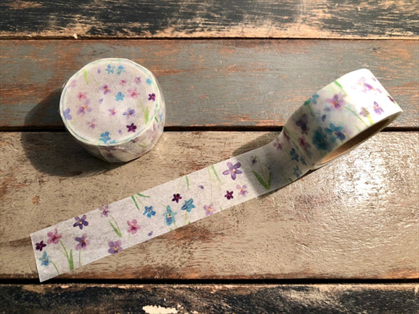 Omori Yuko Original Washi Tape - Sumire (菫)