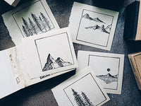 Lihao Paper / Original Stamp - My Scenery Stamp Set A (01)