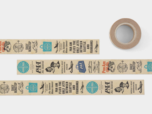 Traveler's Factory Washi Masking Tape - Pan Am
