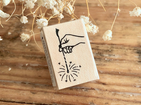 KNOOP Original Rubber Stamp - Sparkler