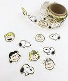 Snoopy Japanese Washi Masking Sticker Roll - Snoopy and Friends