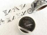 Oeda Letterpress Original Japanese Washi Tapes - Thank you
