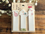 Traditional Japanese Die-cut One Point Sticker / Sticky Stick It index tab - Rabbit
