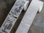 Lihao Paper / Words Of Plants Tracing Paper Rolls