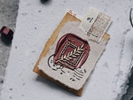 Lihao Paper / Words of Plants Postmark Wax Seal Stamp No.1
