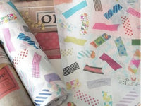 Limited Edition mt Wraps  Washi Wrapping Paper - mt tapes for holiday packaging, gift wrapping