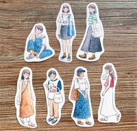 Pointdiary Original Gril Sticker Pack - Summer