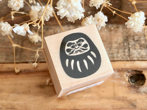 KNOOP Original Rubber Stamp - Daruma