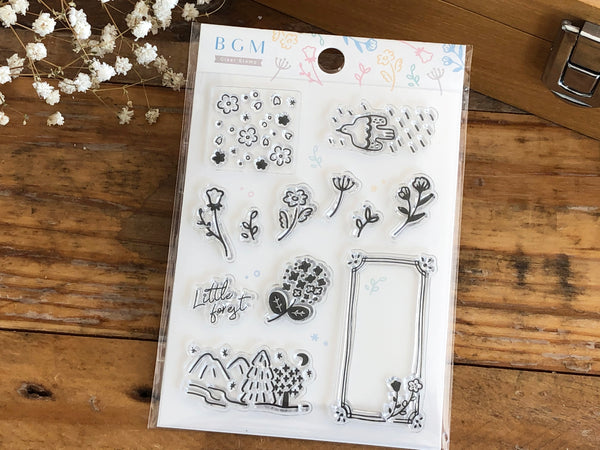 BGM Clear Stamps - Little Forest