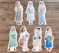 Pointdiary Original Gril Sticker Pack - Flower