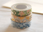 2 DollarSale - Classiky Japanese Washi Masking Tape - Little Garden Flora