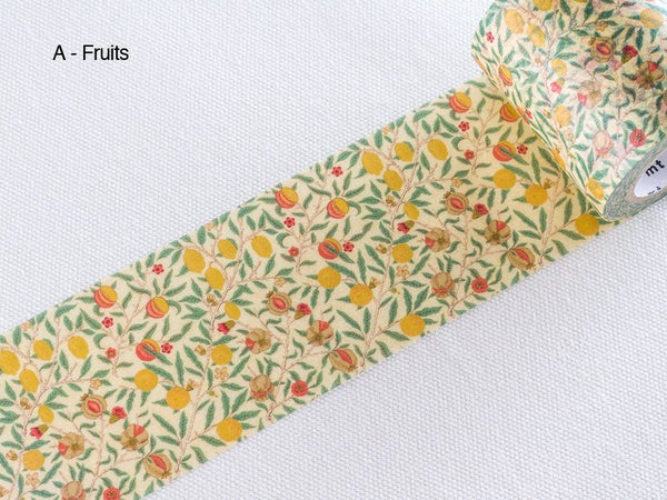 mt 2016 Japanese Washi Masking Tape - mt x William Morris Series 50mm Wide at your choice