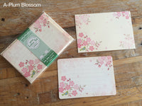 Japanese Cherry Blossom Mini Letter Set / Writing Paper Card with Envelopes