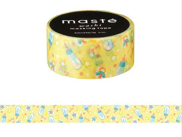 Mark's Japanese Washi Masking Tape - Amazing Life Series / Baby Stuff