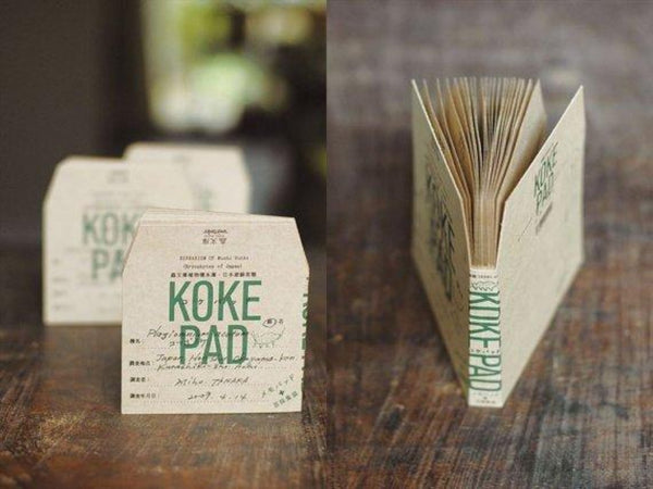 Classiky Kraft Koke Memo Pad Envelopes / Pockets