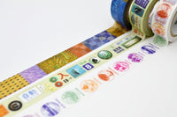Limited Edition mt Japanese Washi Masking Tape set - Sanyo Shinkansen masking tape set A