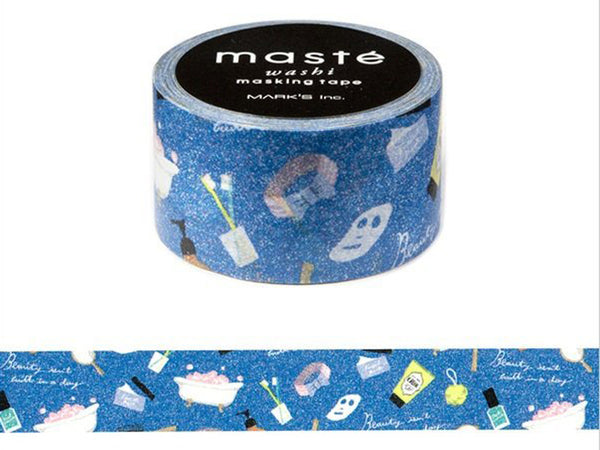 Mark's Japanese Washi Masking Tape - Amazing Life Series / Bathroom