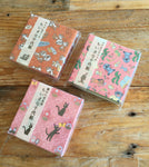 Chiyogami / Origami Paper Set of 60 Sheets in Sliding Box at your choice from Kiki's Delivery, stitch and lilo, Chip & Dale