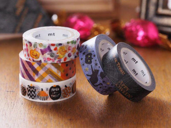 MT ex Halloween Japanese Washi Masking Tapes at your choice