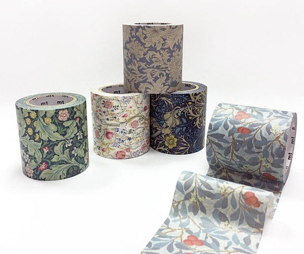 mt 2017 Japanese Washi Masking Tape - mt x William Morris Series 50mm Wide at your choice