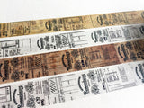 Sunny Sunday x Rosenburg Original Washi Masking Tapes at your choice