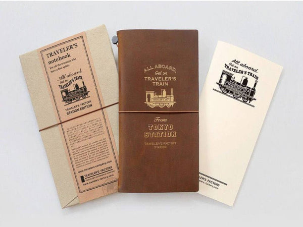 Traveler's Notebook Tokyo Station Edition with Gift Wrapping