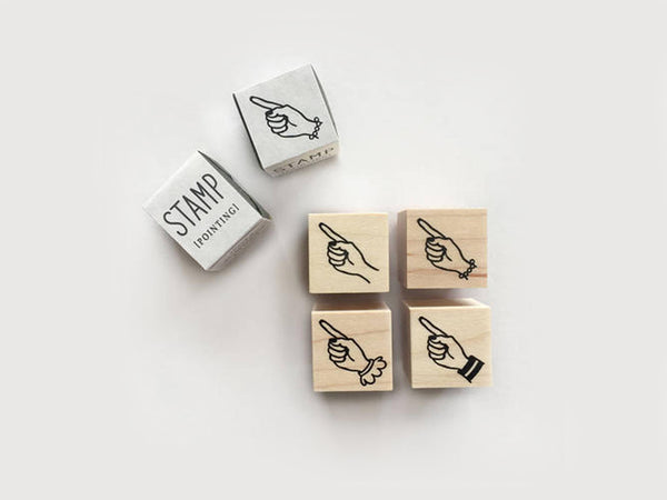 KNOOP Original Rubber Stamps - Pointing Fingers at your choice