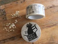Classiky for PACK Japanese Masking Tape / Black Cat & Africa