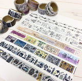 Papier Platz x Sunny Sunday Japanese Washi Masking Tapes