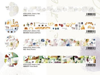 Japanese Washi Masking Tape - Taiwan Illustrator Series (Little Path x Liang Feng) Vol.3