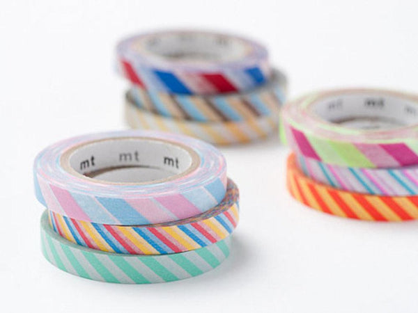 On Sale - mt 2012 Japanese Washi Masking Tapes / 6mm Slim Twist Cord (set of 3)