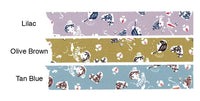 Discontinued-Japanese Washi Masking Tapes / Girl 24mm wide in 3 colors at your choice