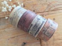 Sunny Sunday Original Washi Masking Tapes-Collage Series at your choice