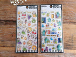 Epoxy sheet of Stickers - Snoopy & Monster Inc at your choice