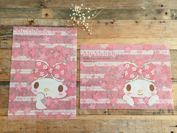 My Melody A4 Size Clear File Holder set of 2